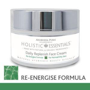 Daily Replenish Face Cream - Re-Energise Formula